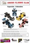 Exposición de maquetas de vehículos depapel