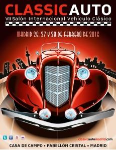Cartel Classic Auto MAdrid 2016