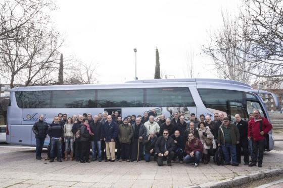 Todos los asistentes a la llegada a ClassicAuto Madrid 2016