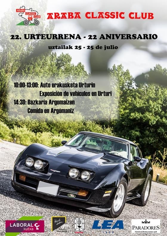 Araba Classic Club 22 Aniversario
