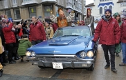 2 Gaspar a bordo del Ford Thunderbird